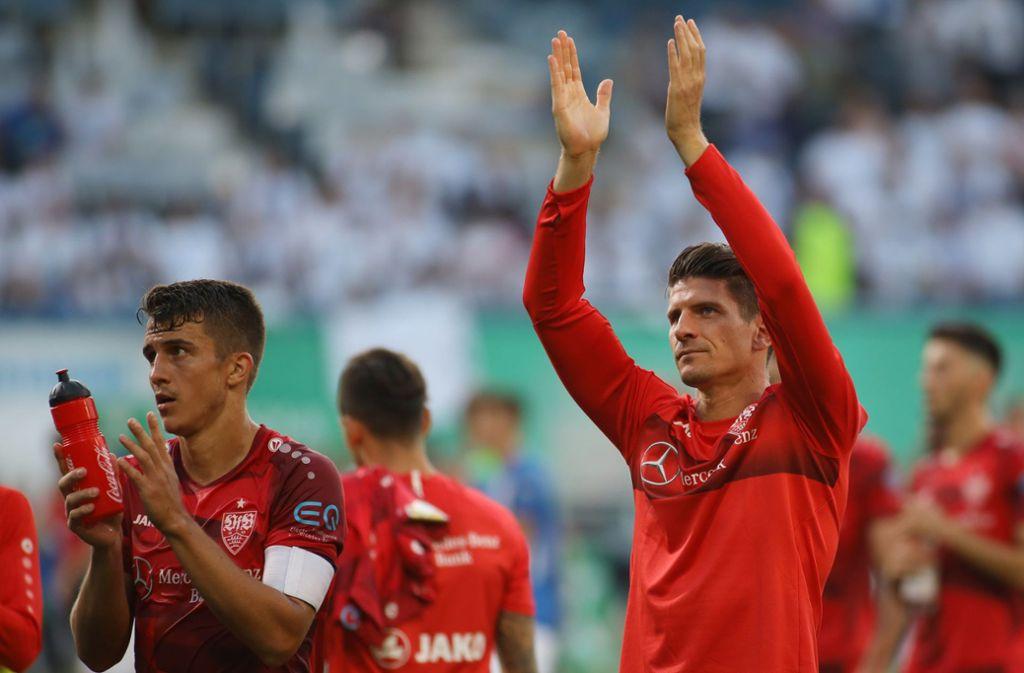 Marc Oliver Kempf (links) und Mario Gomez fehlen beim VfB. Foto: Baumann