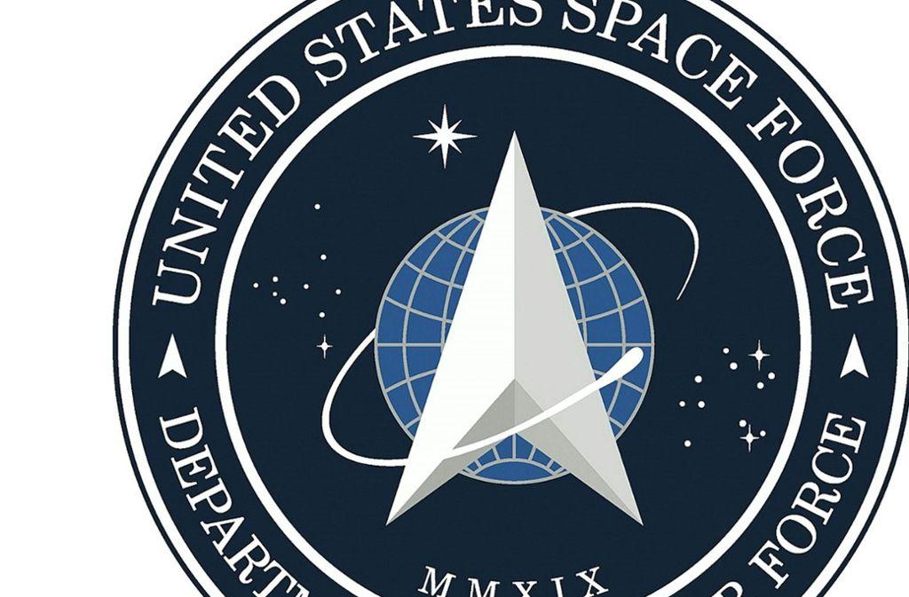 """Das Logo von Donald Trumps Space Force erinnert Nutzer an das Emblem der Sternenflotte aus """"Star Trek"""". Foto: AFP/HO"""