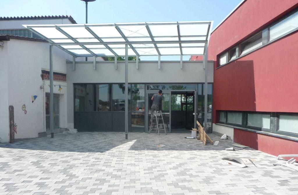 2011 wurde die Gäublickhalle  erbaut. Doch die Tonanlage lässt zu wünschen übrig. Foto: Archiv