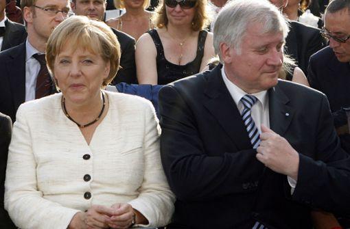 Merkel bleibt eine Getriebene