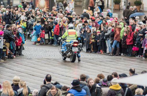 Polizei rüstet sich fürs Faschingsfinale