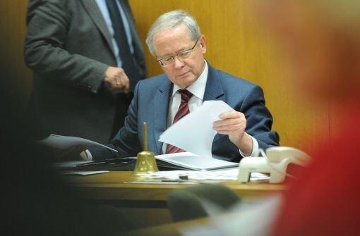 Der CDU-Landtagsabgeordnete Ulrich Müller tritt als Vorsitzender des EnBW-Untersuchungsausschusses zurück. Foto: dpa
