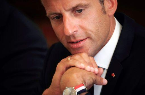 Frankreichs Präsident belehrt Arbeitslosen