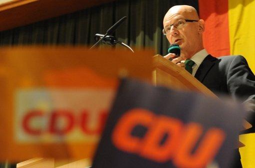 CDU stellt  Kauder ein Ultimatum