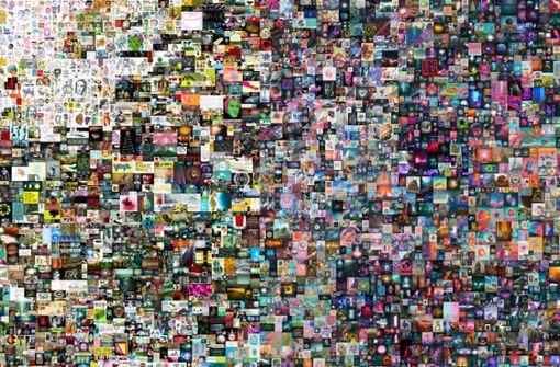 Beeples Kunst: die 69-Millionen-Dollar-Datei