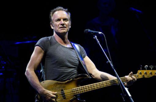 Konzert von Sting bisher nicht abgesagt