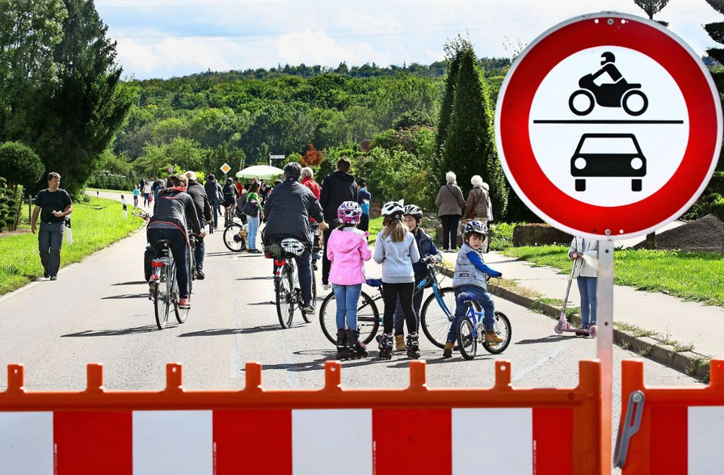 Das Tiefenbachtal wird für den motorisierten Verkehr gesperrt. Foto: Horst Rudel/Archiv