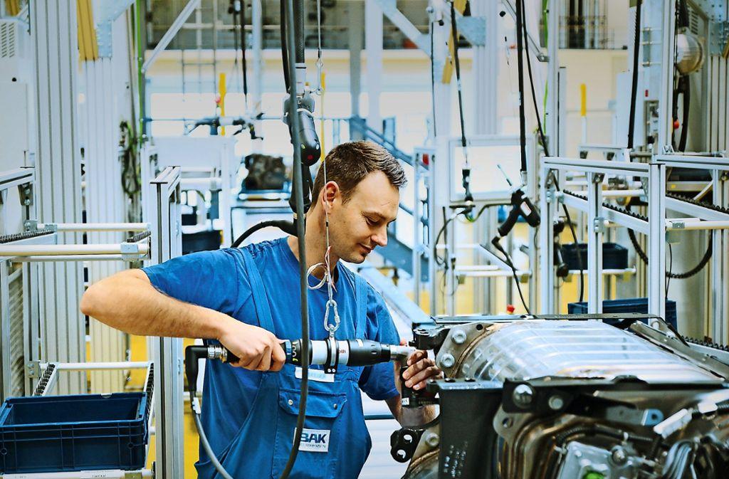 Zehn Jahre lang  liefert  Boysen in Altensteig   aus  einem neuen Werk im Schwarzwald  Abgastechnik  für   den Daimler-Lkw Actros. Foto: Boysen