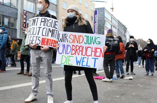 Klimastreik-Aktionen in mehreren Städten in Baden-Württemberg