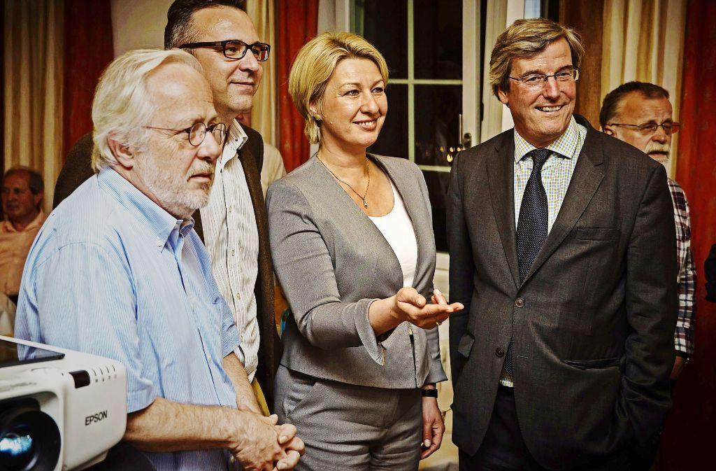Nicola Schelling und Thomas Bopp: Das Lächeln ist selten geworden. Foto: Lg/Zweygarth