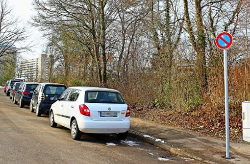 Das neue Parkverbot schert die Autofahrer bislang nicht