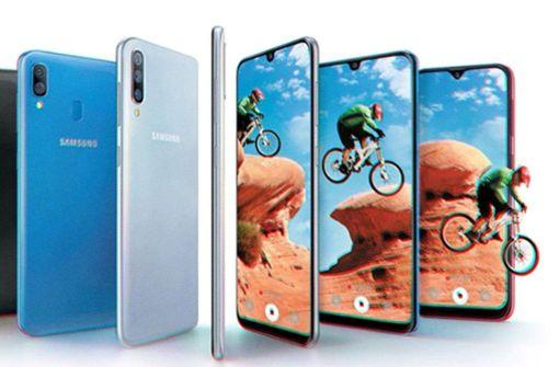 Samsung stellt vier neue Galaxy-Handys vor