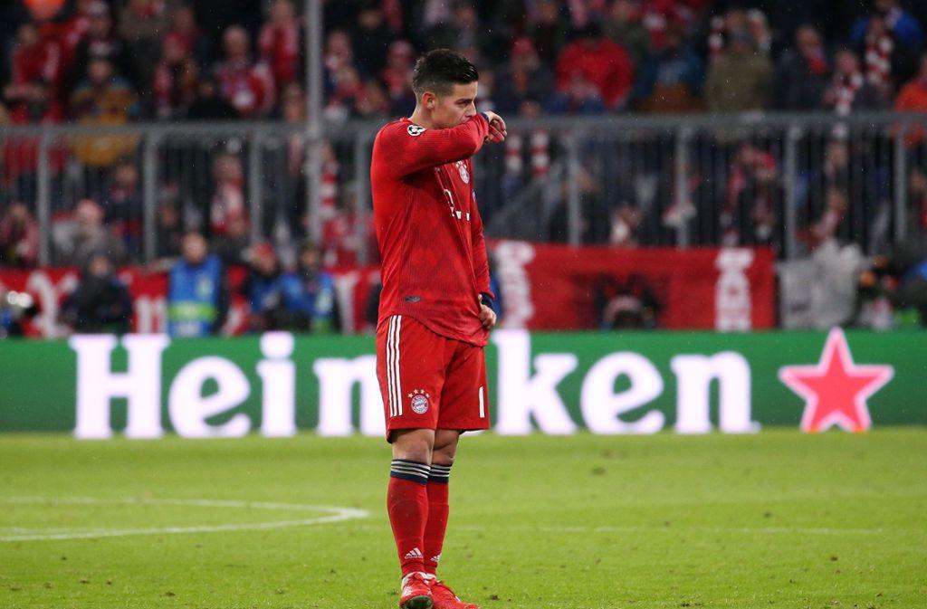 Münchens James: Mund abputzen – und auf die Bundesliga konzentrieren. Foto: Baumann