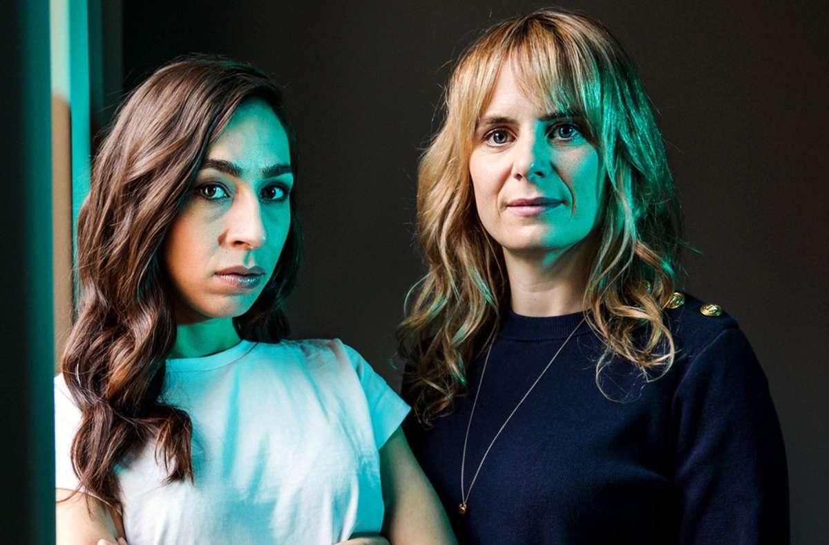 Ott (Carol Schuler) und Grandjean (Anna Pieri Zuercher) sind ein schwieriges Team. Foto: ARD Degeto/SRF/Daniel Winkler