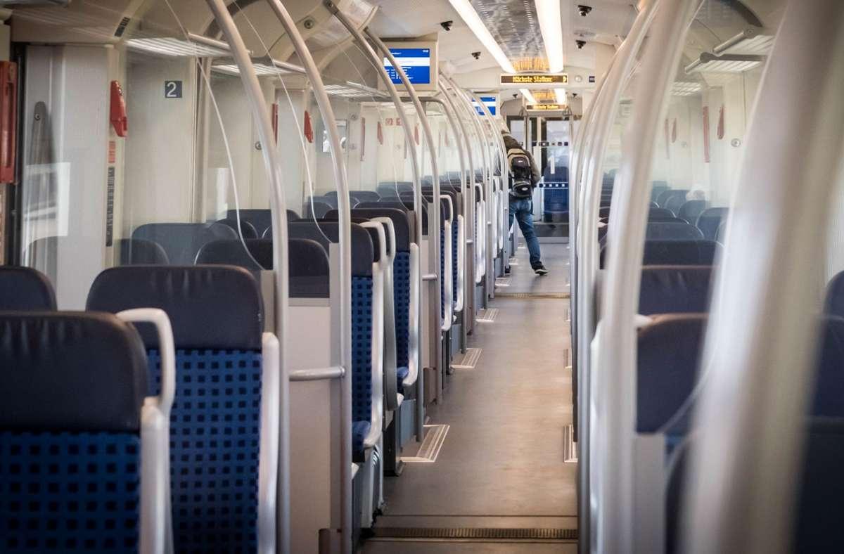 Der Vorfall ereignete sich in einer S-Bahn der Linie S1. Foto: Lichtgut/Achim Zweygarth