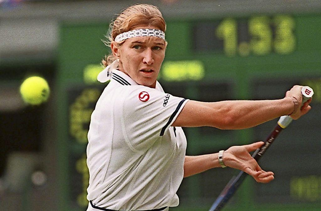 """Stefanie """"Steffi"""" Graf hält Tennis-Rekorde für die Ewigkeit. Foto: picture-alliance / dpa"""