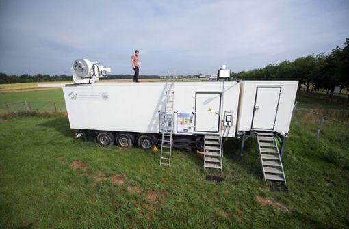Klimaforschung mit Laserstrahlen
