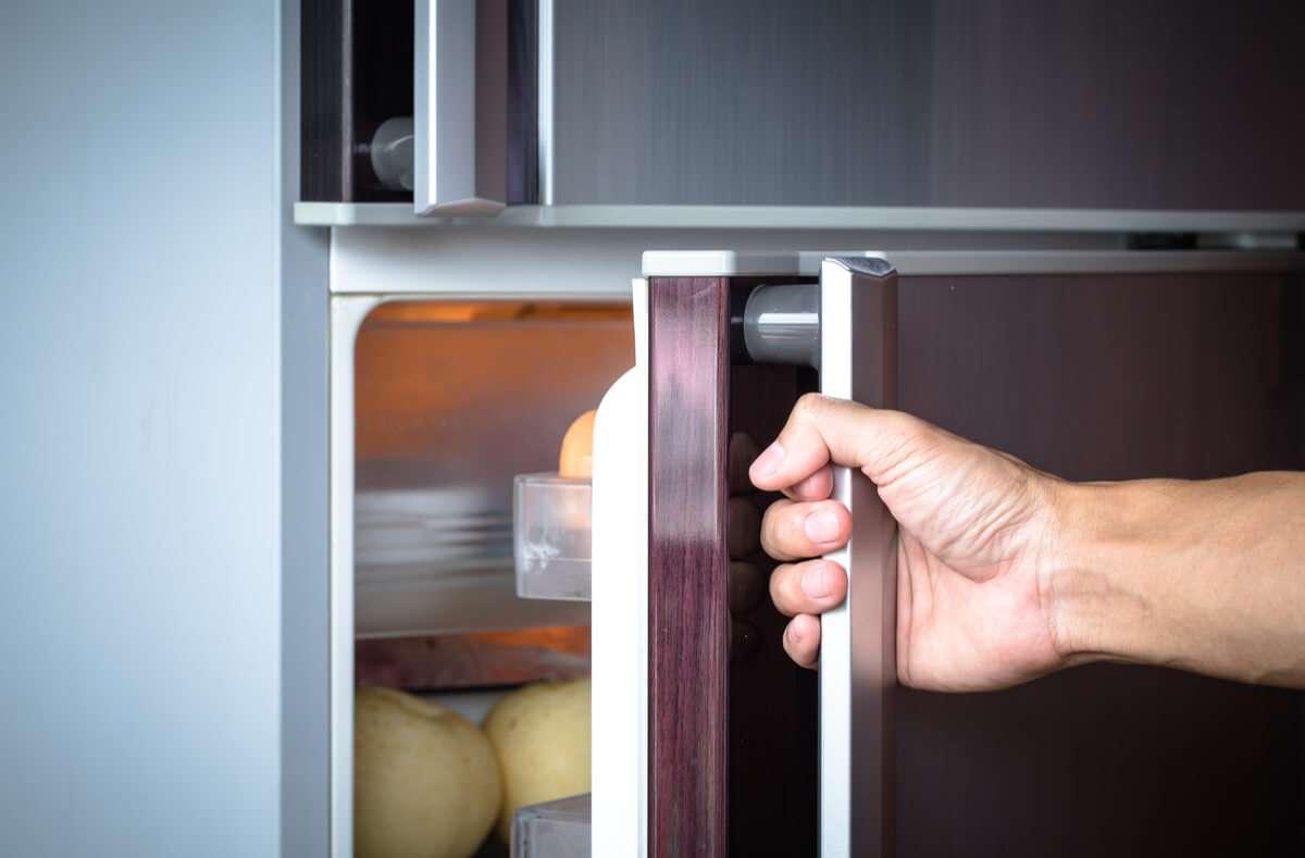 Das können Sie tun, wenn die Kühlschranktür quietscht. Foto: Patty Chan / Shutterstock.com