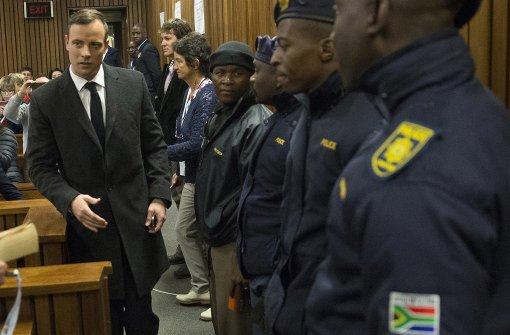 Sechs Jahre Haft für Pistorius