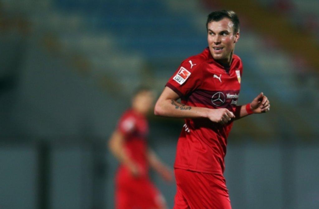 Kevin Großkreutz vom VfB Stuttgart wird von vielen Fans im Internet beschimpft. Andere freuen sich auf seine Bundesliga-Rückkehr. Foto: Getty Images