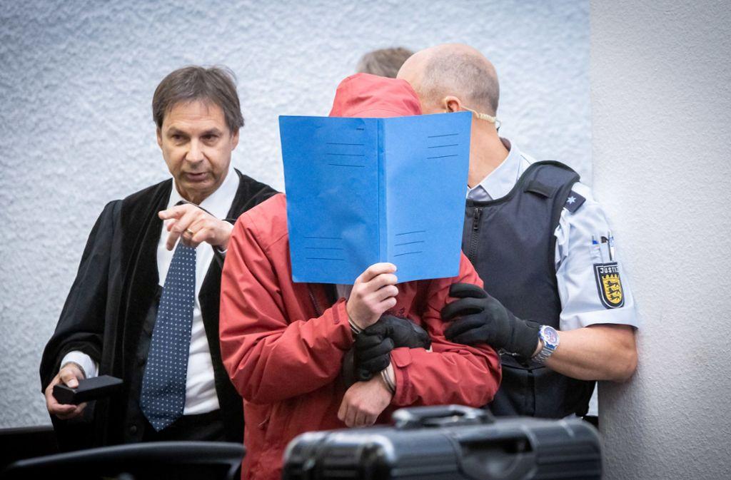 Der 20-jährige Angeklagte muss sich wegen Mordes verantworten. Foto: Lichtgut/Julian Rettig/Julian Rettig