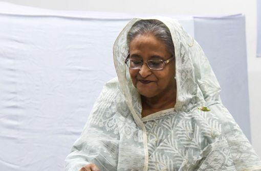 Partei von Premierministerin Hasina gewinnt Parlamentswahl