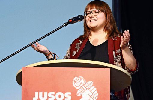 Juso-Chefin im Land: Keine Koalition mit der CDU
