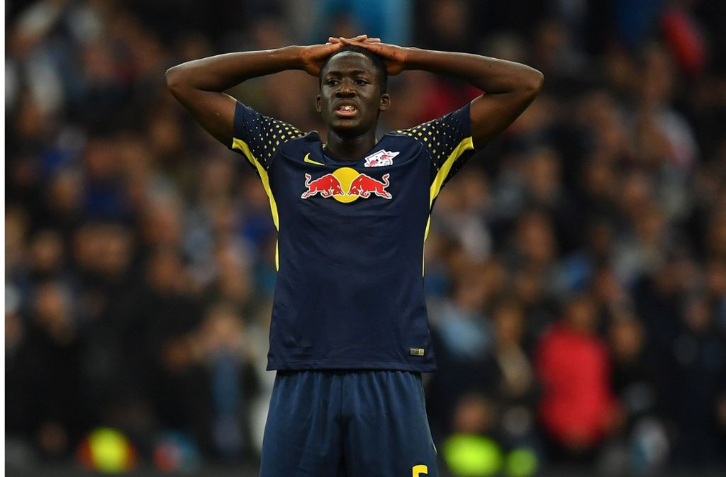 Bei Ibrahima Konate und RB Leipzig macht sich Ernüchterung breit. Foto: Getty