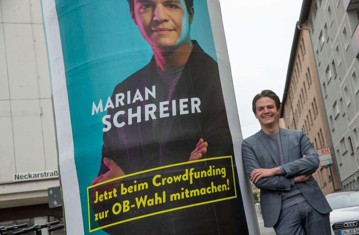 Marian Schreier ist formal SPD-Mitglied. Die Stuttgarter Genossen werden  ihn nun allerdings doch nicht als nächsten Stuttgarter Rathauschef empfehlen. Foto: Lichtgut/Leif Piechowski