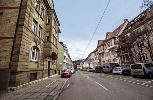 Ein historischer Tatort im Stuttgarter Westen