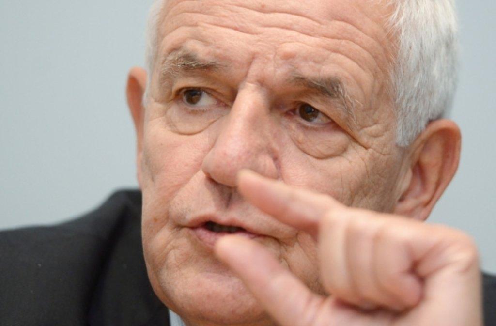 Der baden-württembergische Justizminister Rainer Stickelberger Foto: dpa