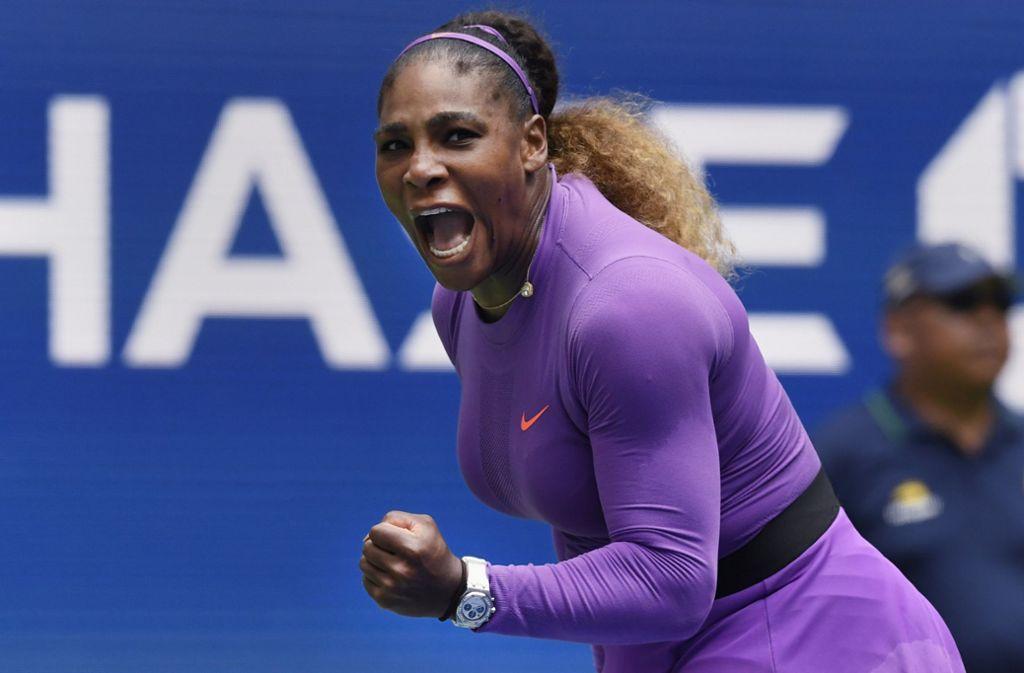 Serena Williams ist eine Runde weiter. Foto: AP