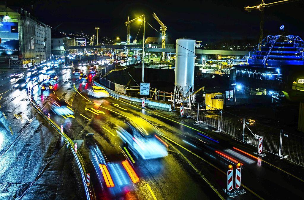 Autos ohne Unterlass: Am Neckartor ist die Belastung mit Feinstaub die größte in ganz Deutschland. Foto: Lichtgut/Max Kovalenko