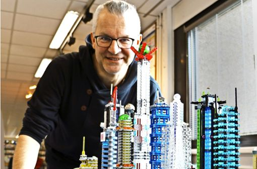 Lego-Kunstwerke für Klein und Groß