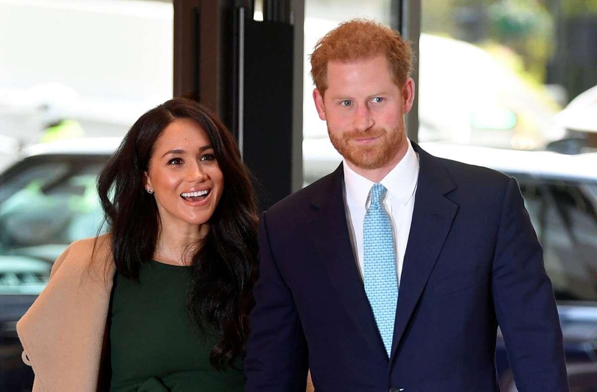 Herzogin Meghan und Prinz Harry haben vor wenigen Tagen eine Tochter bekommen. Foto: dpa/Toby Melville