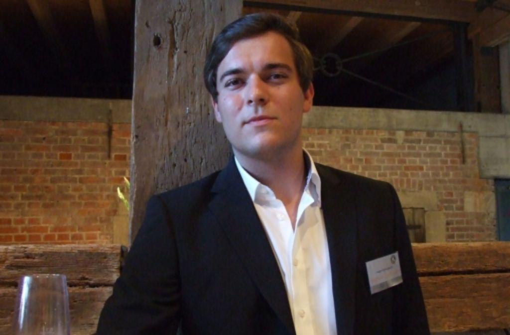Raphael Zachmann ist Jahrgangsbester im Fach Gemeinschaftskunde. Foto: A. Jacobs