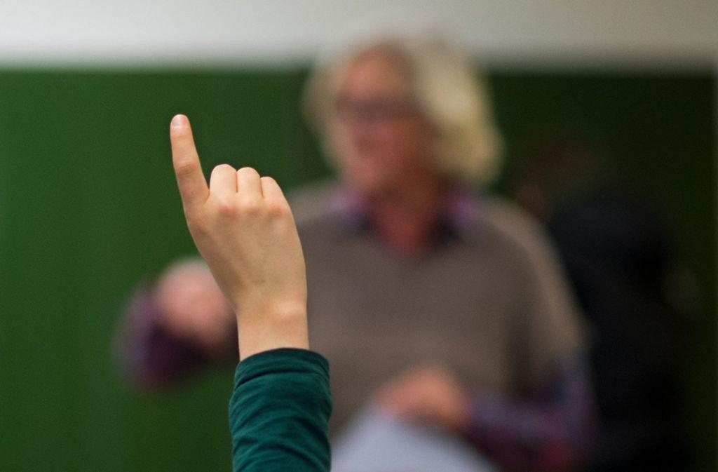 Lehrer werden in den Schulen häufig bedroht oder beschimpft (Symbolbild). Foto: dpa