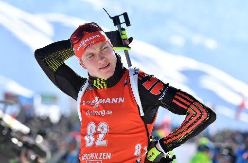 Benedikt Doll wird Biathlon-Weltmeister