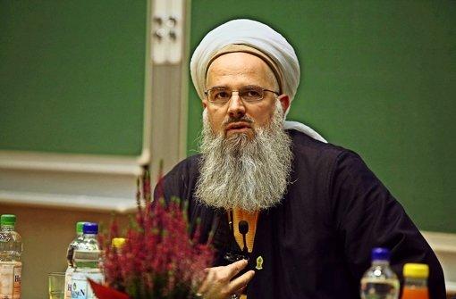 Ein Muslim spricht mit  Herz und Mund