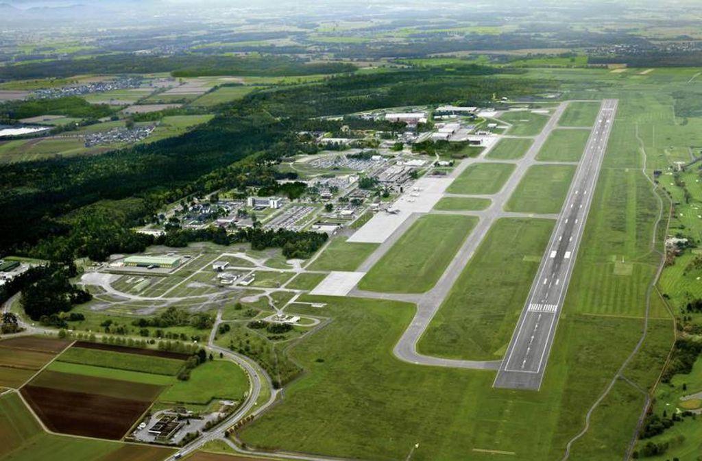 Der Regionalflughafen ist bisher nur schlecht ans überörtliche Straßennetz angebunden. Foto: Baden-Airpark