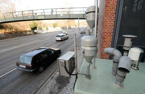 So wird die Luft im Stadtbezirk Stuttgart-Süd am Samstag