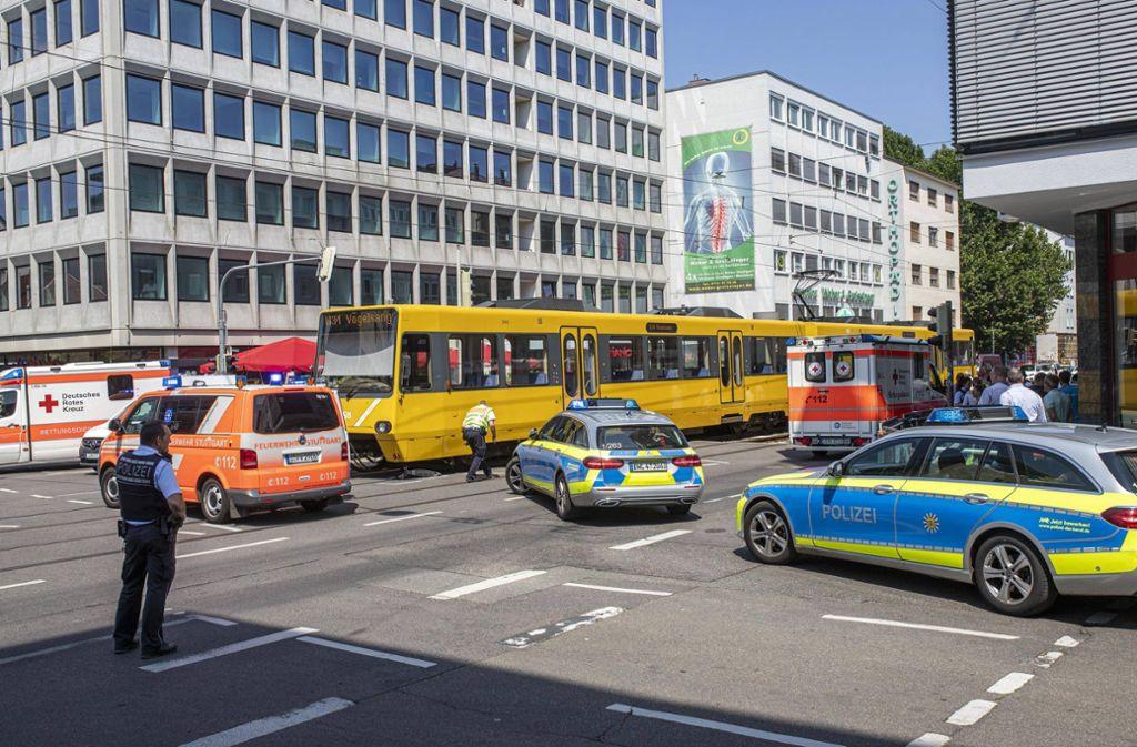 Am 24.Juli Ende Juli wurde ein elfjähriges Mädchen bei einem Unfall an der Schlossstraße sehr  schwer verletzt. Foto: 7aktuell.de/Simon Adomat