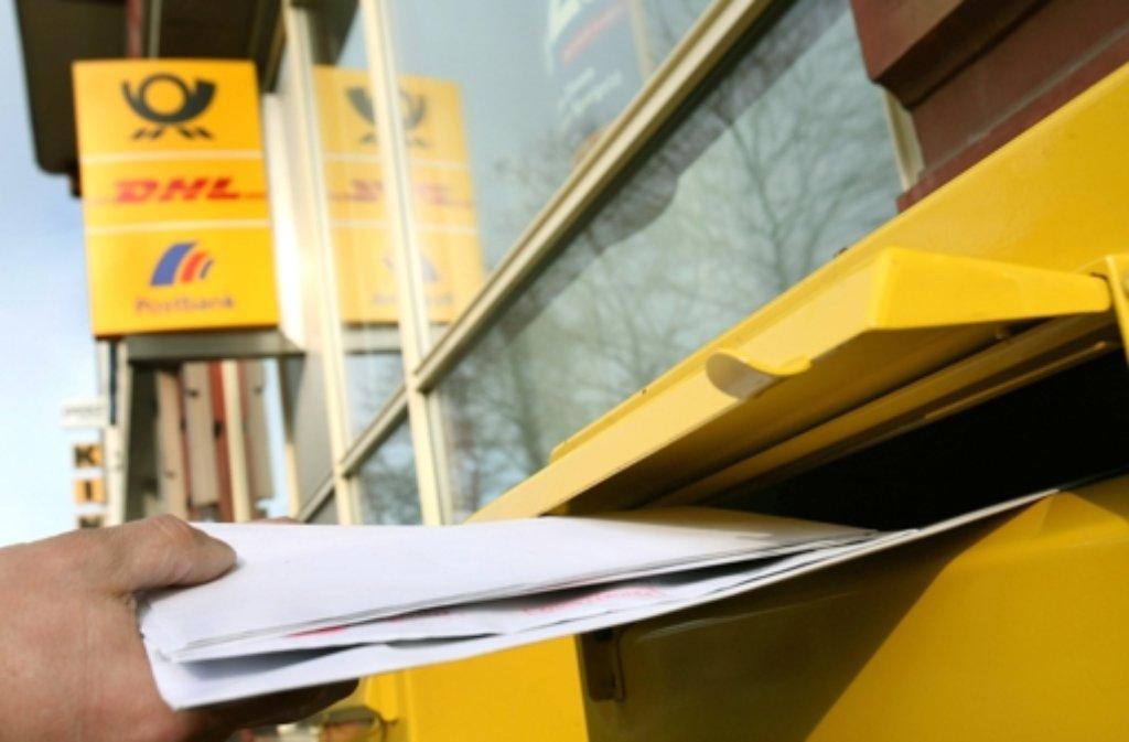 Der Gang zum Briefkasten wird wieder teuerer. Foto: dpa