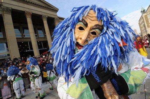 Auch in diesem Jahr werden  die Stuttgarter Narren wieder auf dem traditionellen Faschingsumzug durch die Innenstadt ziehen. Foto: dpa