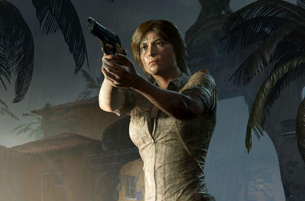 Zäh und nicht zimperlich: Lara Croft muss auch im dritten Teil der Neuauflage einiges einstecken, teilt aber auch aus. Foto: Square Enix