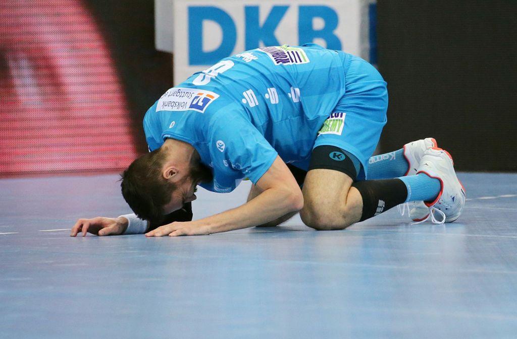 Dominik Weiß kann's nicht fassen., Foto: Pressefoto Baumann