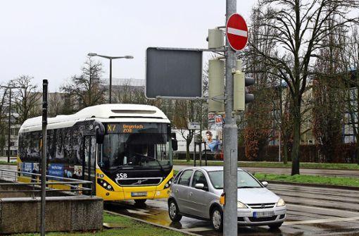 Der Schwachpunkt des Schnellbusses