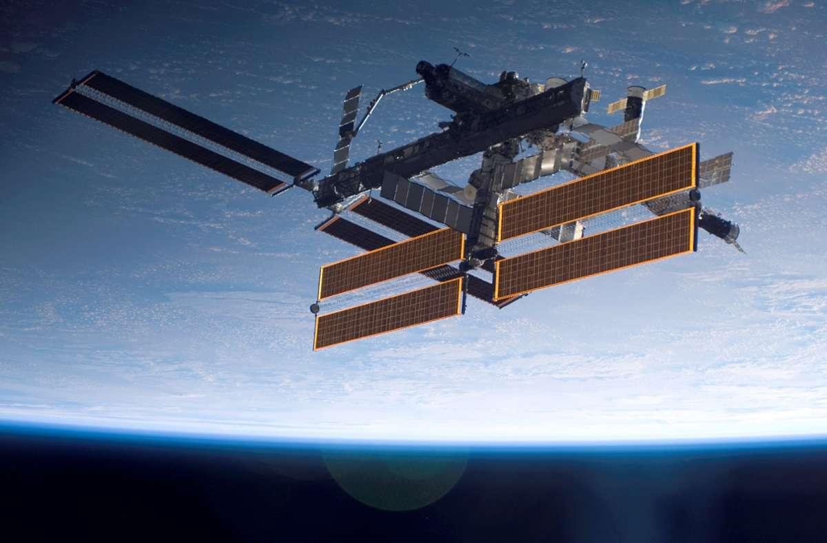 Die Internationale Raumstation ISS wird zum Drehort. Foto: dpa