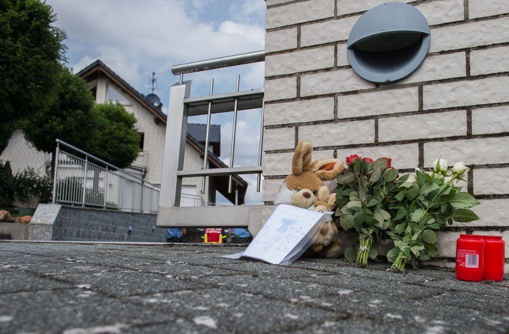 Familiendrama im südhessischen Mörlenbach: Zwei Kinder sterben. Foto: dpa