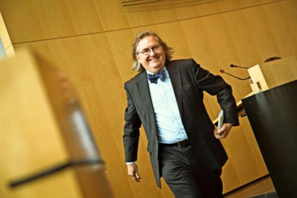 Mit Schwung ins neue Amt: der neue Baubürgermeister Peter Pätzold  will die Bürger früher einbinden. Foto: Lichtgut/Leif Piechowski